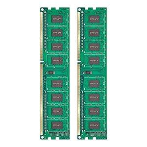 PNY Performance 16GB Kit (2x8GB) DDR3 1600MHz (PC3-12800) CL11 Desktop Memory - MD16GK2D31600NHS