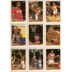 Houston Rockets 1993-94 Topps Basketball Team Set (NBA Finals World Champions) (4... by Topps