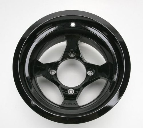 AMS Black Cast Aluminum Rear Wheel - 12x7, 4/137,
