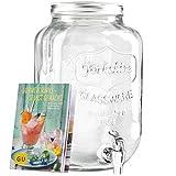 Levivo Getränkespender aus Glas & exklusives GU Booklet...