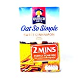 Quaker Oat So Simple Cinnamon 330g