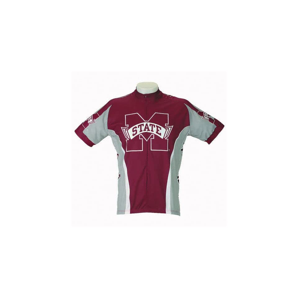 3a7d9b387 Mississippi State Bulldogs Short Sleeve Cycling Jersey on PopScreen