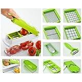 Globalepartner Nicer Dicer Plus Multi Chopper Vegetable Cutter Fruit Slicer