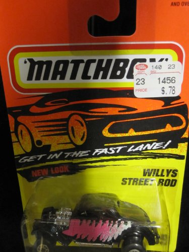 Willys Street Rod (black) Matchbox Super Fast Series #69