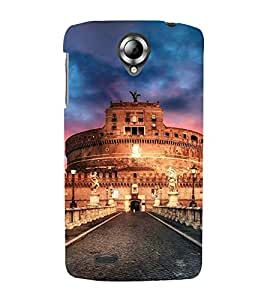 Vizagbeats Roman fort Back Case Cover for Lenovo 820