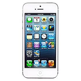 Apple iPhone 5 (White, 16GB) Apple iPhone 5 (White, 16GB) available at Amazon for Rs.36500