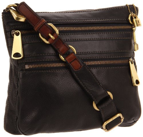 Fossil Explorer ZB5255 Cross Body,Black,One Size
