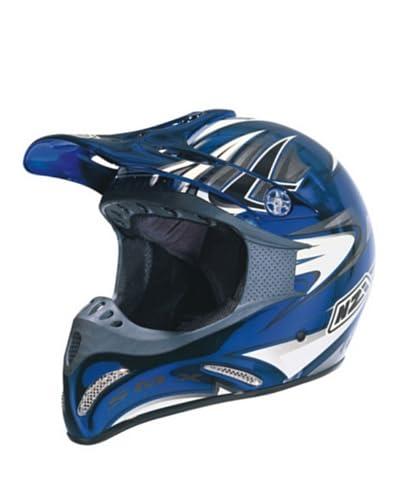 Nzi Casco Integral Motocross Smx Cromo Cab