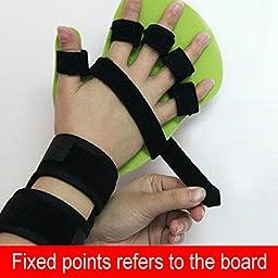 Finger Orthotics Points Fingerboard Stroke Hemiplegia Rehabilitation Training Equipment (L, right hand)