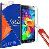 PLT24 Panzerglas Schutzfolie 9H Hartglas / für Samsung Galaxy S5 / S5 neo / Displayschutzglas / Tempered Glass / Panzer Glas Display Schutz Folie / Schutzglas / Echte Glas / Verbundenglas / Glasfolie