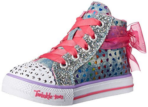 fe66ca6d2c55 Skechers Kids Shuffles Pixie Bunch Lighted Sneaker (Toddler Little Kid) -  Light-Up Shoes