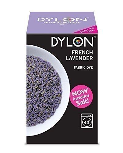 Dylon-Teinture-textile-pour-Machine--laver-350-g-lavande-franaise-y-compris-le-sel