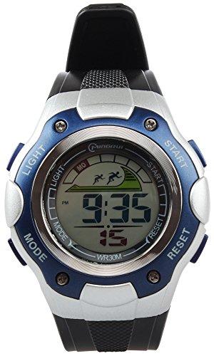 8Years- 1 Stueck Blau Kinder Outdoor Armbanduhr Digitaluhr Stoppuhr Wasserdicht
