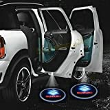 2 X 2014 Latest 6th Gen car door Shadow laser projector logo LED light for Suzuki Swift SX4 Grand Vitara Ignis Jimny APV Baleno Every Kizashi Liana MR Wagon Splash Samurai Palette Twin