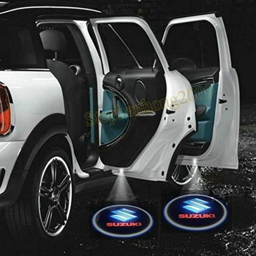 2 X 2014 Latest 6Th Gen Car Door Shadow Laser Projector Logo Led Light For Suzuki Swift Sx4 Grand Vitara Ignis Jimny Apv Baleno Every Kizashi Liana Mr Wagon Splash Samurai Palette Twin