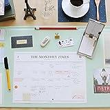 Vintage Designed Desk Mat Ver. 02 - Mint