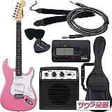 SELDER セルダー エレキギター ストラトキャスタータイプ サクラ楽器オリジナル ST-16/PK 初心者入門ベーシックセット