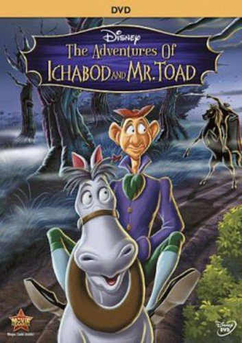DVD : The Adventures of Ichabod and Mr. Toad (Special Edition, , AC-3, Dolby, Dubbed)