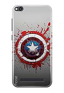 Noise Redmi 4A Printed Designer Back Case Cover For Redmi 4A Hard Shell Case (Civil War)