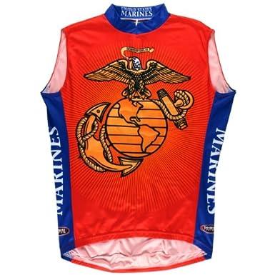 Primal Wear US Marines cycling sleeveless Jersey