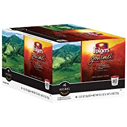 Folgers Gourmet Selections Lively Colombian Coffee 80 K-cup Packs