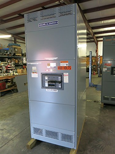 Square D 2000A 480Y/277 Qed Disconnect Panel /W Rlf36200Cu44A Lsig Breaker 480V