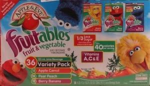 Apple & Eve Fruitables Juice Beverage 36 Variety Pack