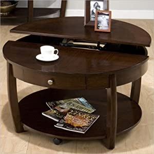 Riverside Round Lift Top Cocktail Table Coffee Tables