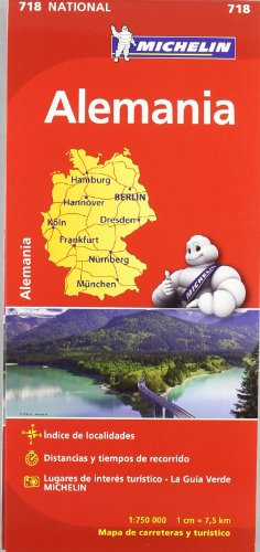Mapa National Alemania (Mapas National Michelin)