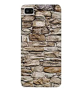 EPICCASE stone wall Mobile Back Case Cover For Lenovo ZUK Z2 (Designer Case)