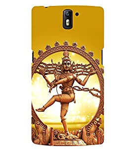 D KAUR Lord Shiva Lovers Back Case Cover for OnePlus One