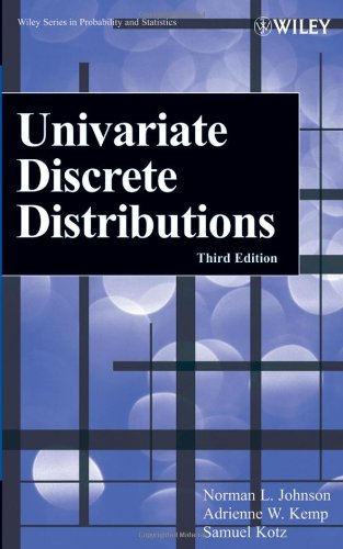 Free download of books number isbn Univariate Discrete Distributions