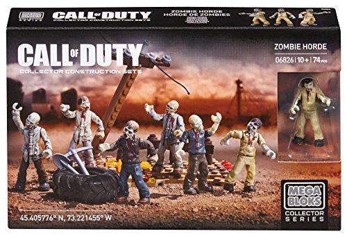 Mega Bloks 06826 - Call Of Duty Zombie Mob, Konstruktionsspielzeug