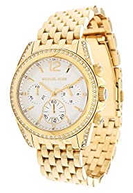Michael Kors Mid-Size Golden Pressley Chronograph Glitz Women's watch #MK5835