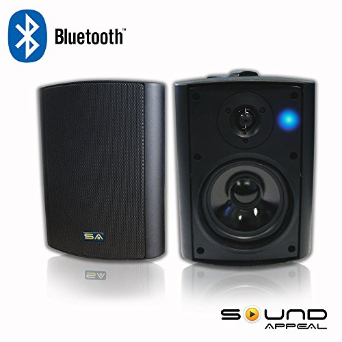 Bluetooth 5 25 Indoor Outdoor Weatherproof Patio Speakers