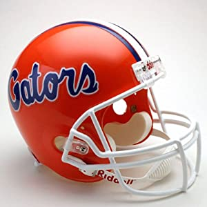 NCAA Florida Gators Deluxe Replica Football Helmet by Riddell