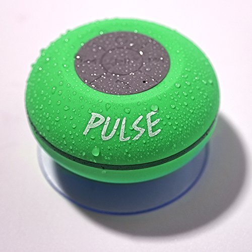PULSE! The Next Evolution In Sound - Waterproof Bluetooth Shower Speaker - LED Wireless Portable Audio Player - Lifetime Guarantee pulse shaping in wireless communication