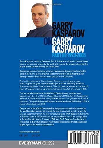 Garry Kasparov on Garry Kasparov