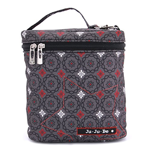 Ju-Ju-Be Fuel Cell Insulated Bottle and Lunch Bag, Magic Merlot