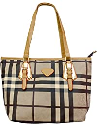 Ruff Brown Casual Stylish Women's Handbag