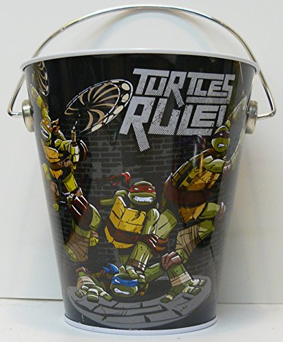 TEENAGE MUTANT NINJA TURTLES PARTY FAVOR TIN PAILS