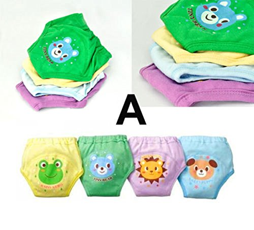 Xidaje New Designed 4Pcs Baby Potty Training Pants front-1024710