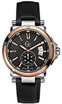 GUESS Gc-1 Swiss Leather Mens Watch G65009G2