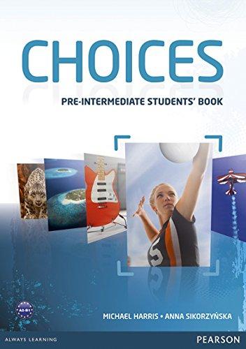 Choices Pre-Intermediate Students' Book