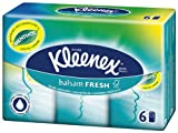 Kleenex Balsam Fresh Hanks 6 x 9 Sheets (Pack of 12, Total 72 Packets)