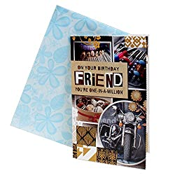Giftacrossindia Birthday Greeting Card For Friend