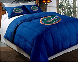 NCAA Florida Gators Twin Full Sized Comforter with Shams by Northwest