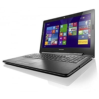 Lenovo G50-45 80E3022BIH 15.6-inch Laptop (AMD E1-6010/4GB/500GB/Windows 10 Home/Integrated Graphics), Black