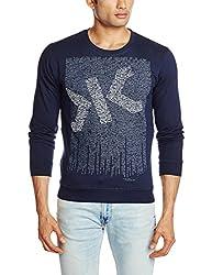 Killer Men's Cotton Sweatshirt (8907201789548_KT-2153CORAY RNFS NV_XX-Large_Navy)