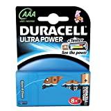 Brand New. Duracell Ultra Power MX2400 Battery Alkaline 1.5V AAA Ref 81235515 [Pack 8]